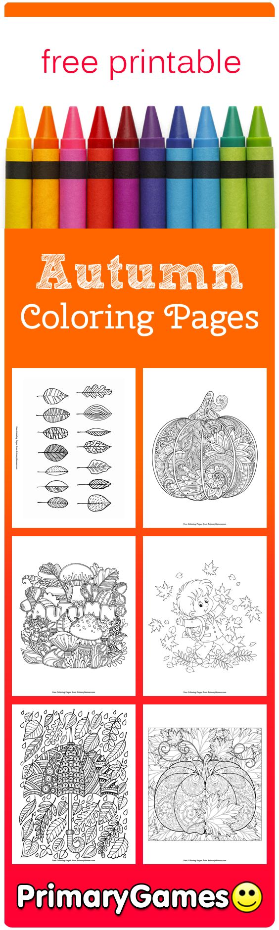 Coloring book for notability - Fall Coloring Pages