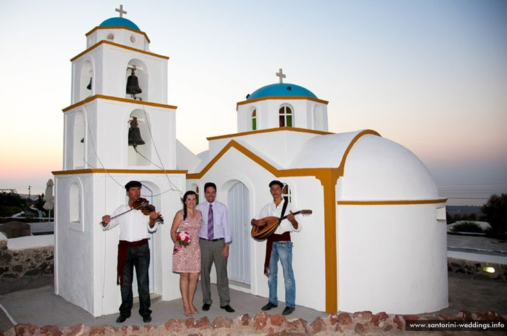 Santorini religious wedding packages