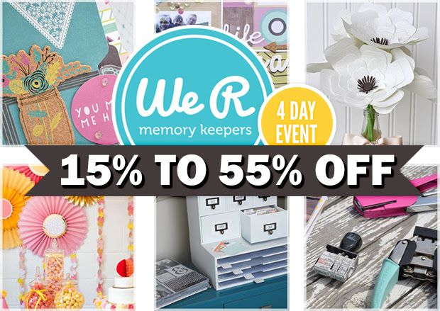 Nancy Nally at Scrapbook Update has compiled a table listing both online and in store deals on Cricut and Silhouette machines and accessories. If you're in the market for an electronic die cutter, this is an invaluable resource!