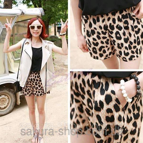 Заказать шорты леопардовые для дома