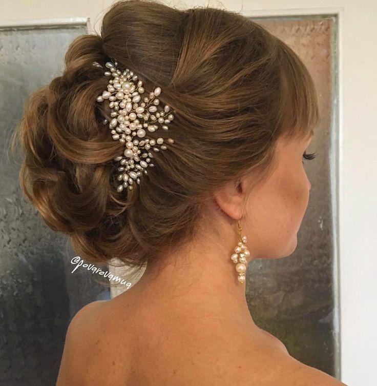 Нежные украшения для Ирины прическа, макияж @povarovamua #свадебноеукрашение…