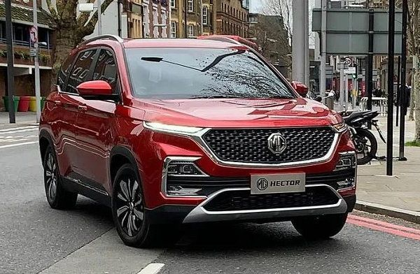 Mg Hector S Production In India Will Soon Be Going Into Production