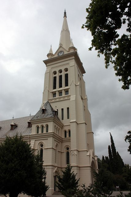 Beautiful Toring Kerk in Paarl, South Africa