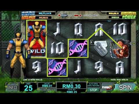 WIN BONUS with WOLVERINE Online Slot Game - 344% FREE CASINO BONUS Contact us now at 0102468222 / 0102469222, or via WeChat ID: bigcs123/bigcs456 Visit www.bigchoysun.com - the Best Online Live Casino Malaysia & Sportbook.
