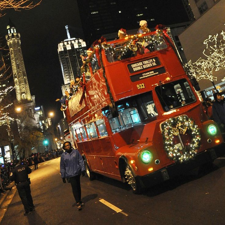 Magnificent Mile Lights Festival chicago christmas