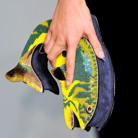 Olympia Le Tan fish clutch bag - quirky designer handbags - handbag.com