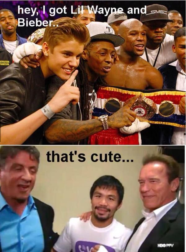 Funniest Mayweather – Pacquiao Memes: #MayPac Reactions by Fans http://www.veepy.com/funniest-mayweather-pacquiao-memes-maypac-reactions-by-fans/