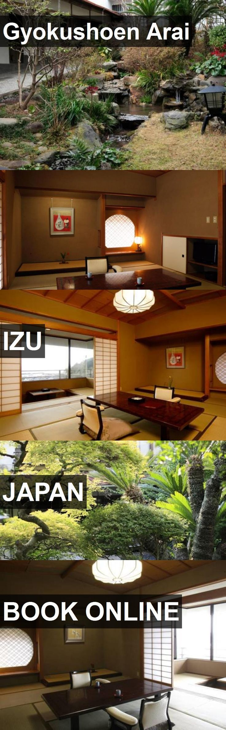 Hotel Gyokushoen Arai in Izu, Japan. For more information, photos, reviews and best prices please follow the link. #Japan #Izu #travel #vacation #hotel