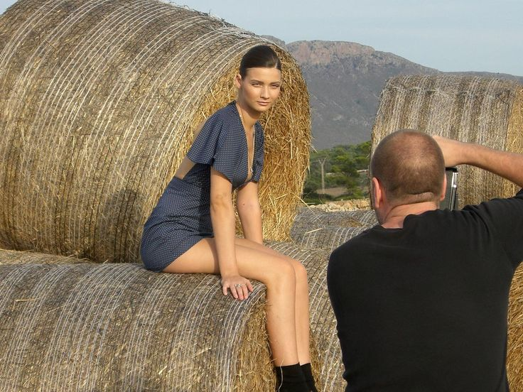 Behind the scenes for Marie Claire from a while back.