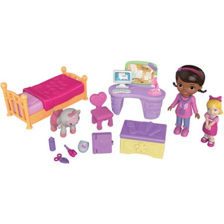 Disney Doc McStuffins Smiles Bedroom Play Set, Multicolor