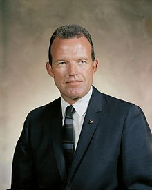 Gordon Cooper one of the original 7 Gemini astronaut, born in Shawnee, Okla.  featured in The Right Stuff (Dennis Quaid part)