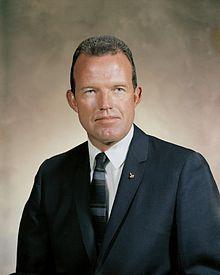 Gordon Cooper one of the original 7 Gemini astronaut, born in Shawnee, Okla.  featured in The Right Stuff (Dennis Quaid part)