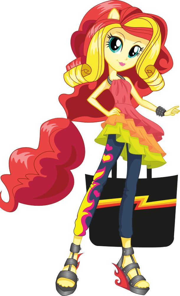 Sunset Shimmer   MLP: Equestria Girls Character Bio   Rainbow Rocks