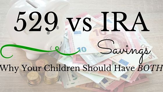 What is the difference between having a 529 savings plan for your children  and an IRA savings plan for your kids. Let me clear this one up!