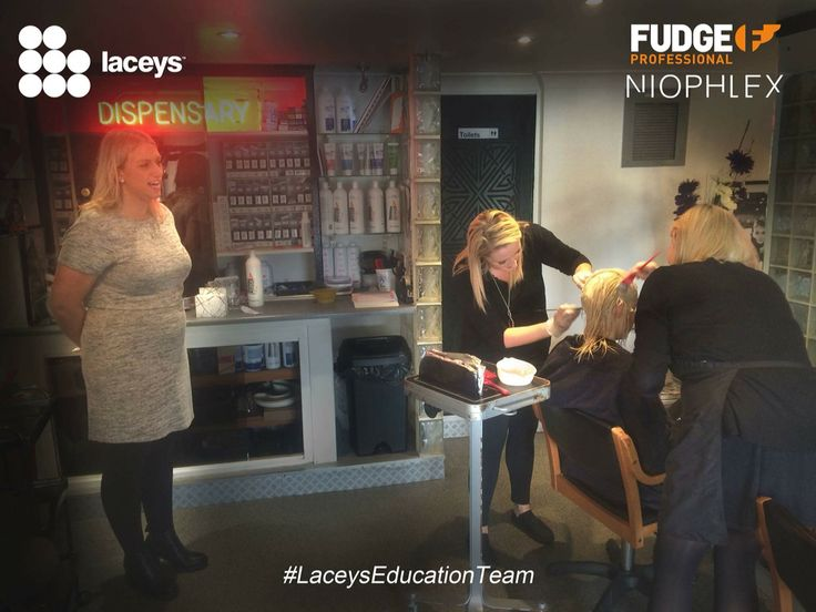 Lacey's education team in action with fudge and niophlex
