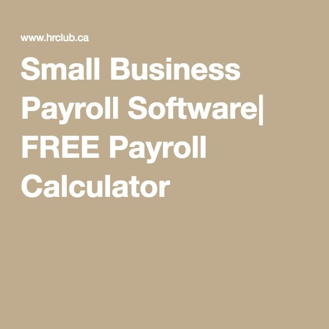 small business payroll calculator - Onwebioinnovate