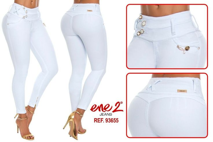 ENE2 JEANS COLOMBIANOS AUTHENTIC COLOMBIAN PUSH UP JEANS LEVANTA COLA BUTT LIFT
