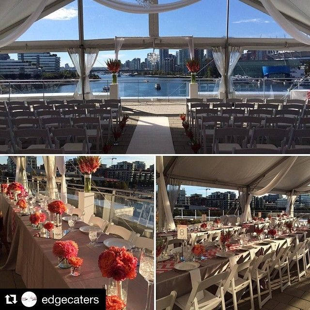 Science World patio  Beautiful views, unique venue, totally customizable and bring your own catering