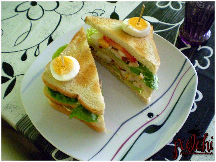 Chicken-Club-Sandwich - gesund und lecker