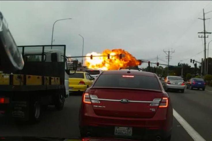 Momento dramático foi captado em vídeo