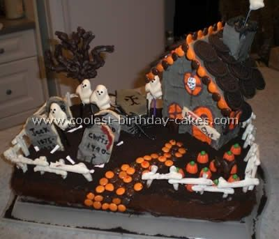Cake Decorating Classes Kitchener : Best 25+ Haunted house cake ideas on Pinterest Haunted house 1, Cake making courses and ...