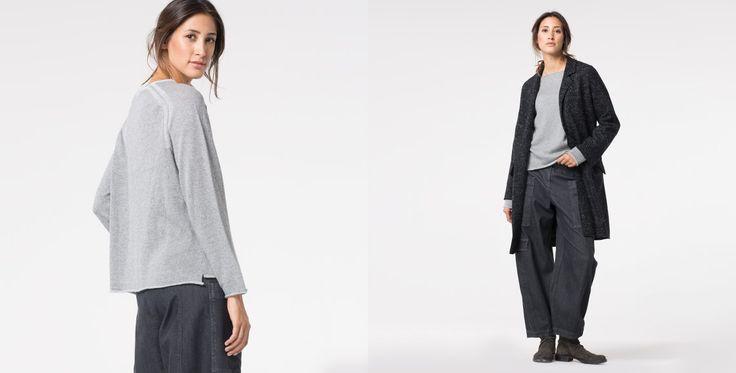 OSKA - coat Valyn black