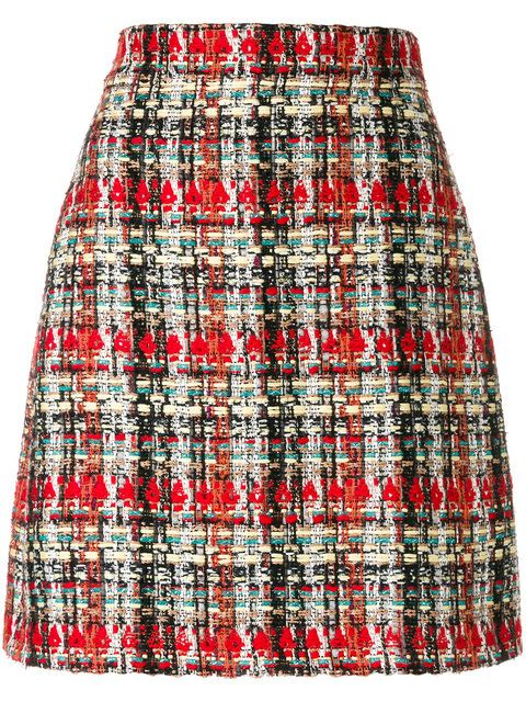 9968ec82 GUCCI tweed skirt. #gucci #cloth # | Gucci in 2019 | Tweed mini ...