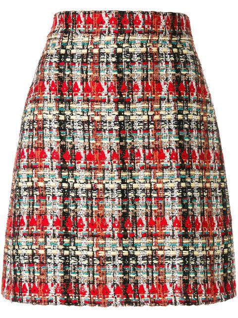 43922f02be Shop Gucci tweed skirt. Slip Skirts, Red Skirts, Short Skirts, Mini Skirts