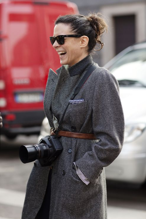 On the Street…..Black Frame Shades, New York, Milan & Paris « The Sartorialist
