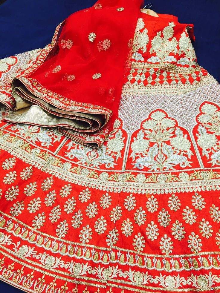 Red Lehenga for the bride
