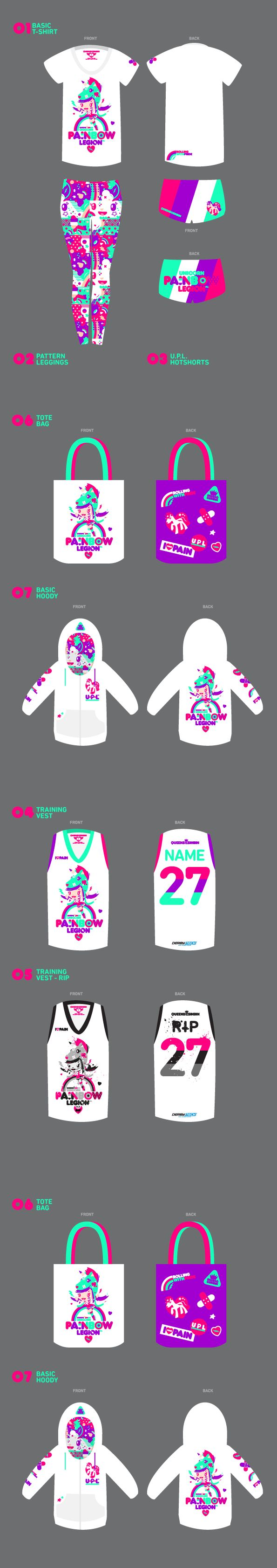 AOKU x QUEENS OF THE SIN BIN LINE-UP [rollerderby uniform brand]