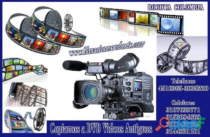 Transfer Copiamos a DVD Videos Antiguos, Estampamos tu Foto en Prendas.