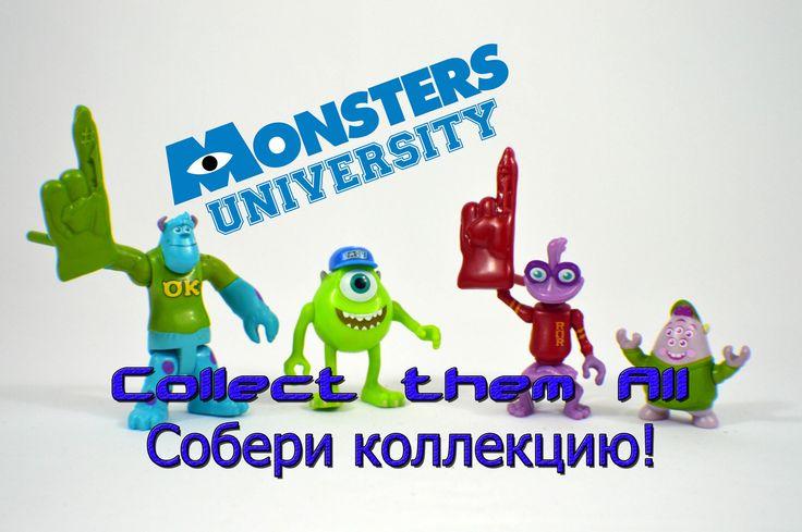 Monsters University Toys / Игрушки Корпорация Монстров Университет - Bam...