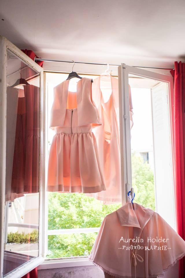 #bridesmaids #dress #pink #blush #demoisellesdhonneur