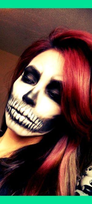 Halloween makeup..awesome!