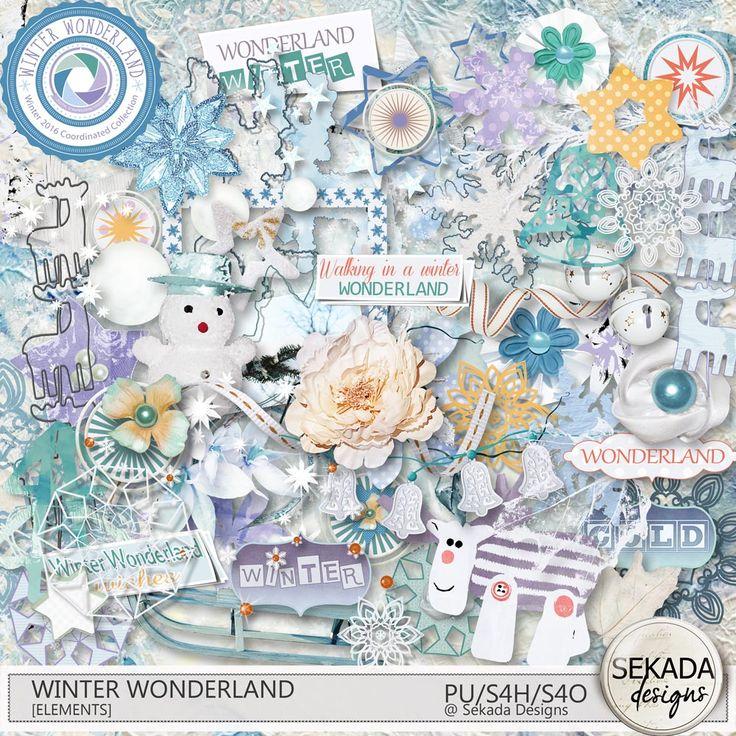 Digital Art :: Element Packs :: Winter Wonderland Elements