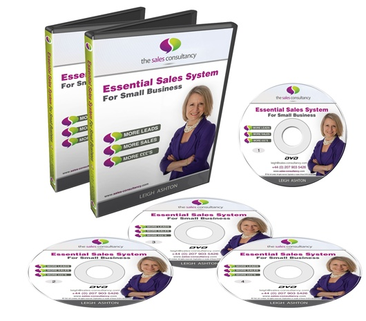 Our first DVD Programme to help biz owners generate more sales :)