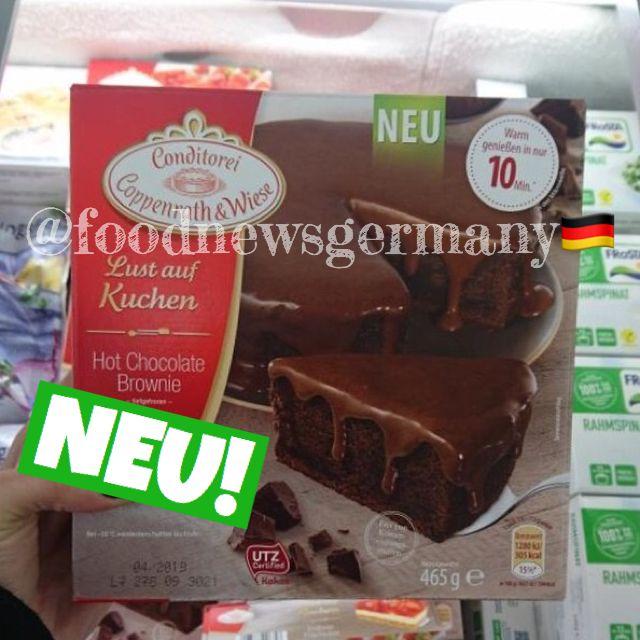Coppenrath Wiese Hot Chocolate Brownie Kuchen Produktneuheit