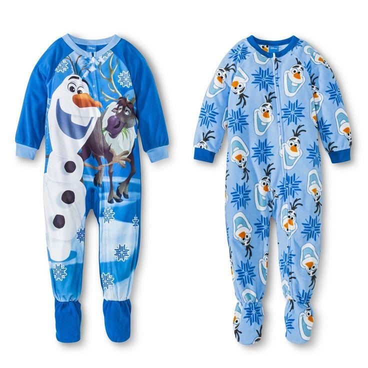Disney� Frozen Toddler Boy's Olaf 2-Piece Footed Sleeper