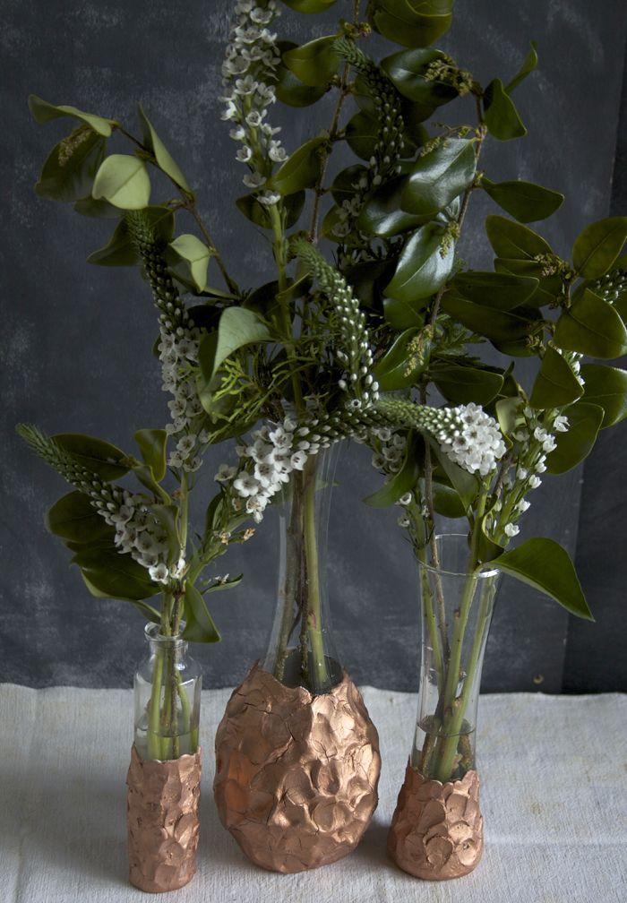 219Сделать напольную вазу из пластиковых бутылок своими руками
