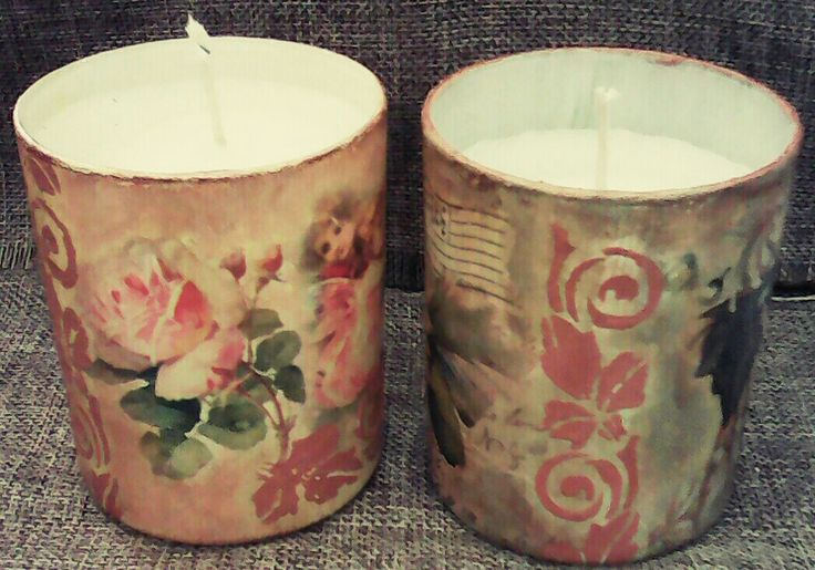 Κερί σε ποτήρι για ρομαντικές στιγμές 💛💛💛