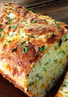 Cheese, Olive, and Buttermilk Herb Bread