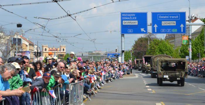 Slavnosti svobody navštívilo 90 tisíc lidí, o 40 tisíc více než loni