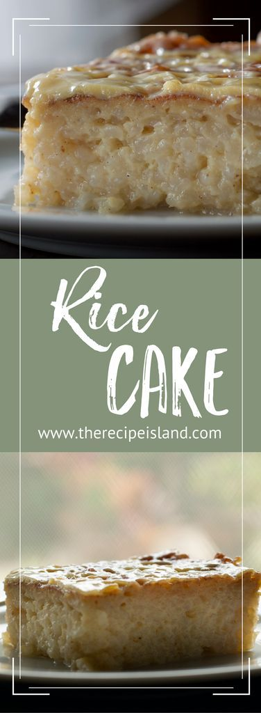 Make this traditional pot cake from the Bay Islands of Honduras - Rice Cake.  See step by step instructions on The Recipe Island.