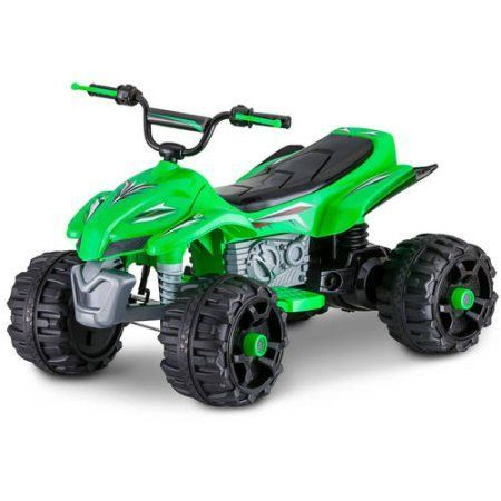 Sport ATV 12V Battery Powered Ride-On, Pink, Green