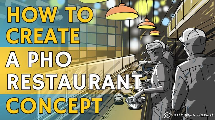 Among the most abstract steps in creating a new pho restaurant is to start with a solid concept. Here's a discussion on the importance of a well-developed pho restaurant concept. Pho restaurant consulting by Cuong Huynh.
