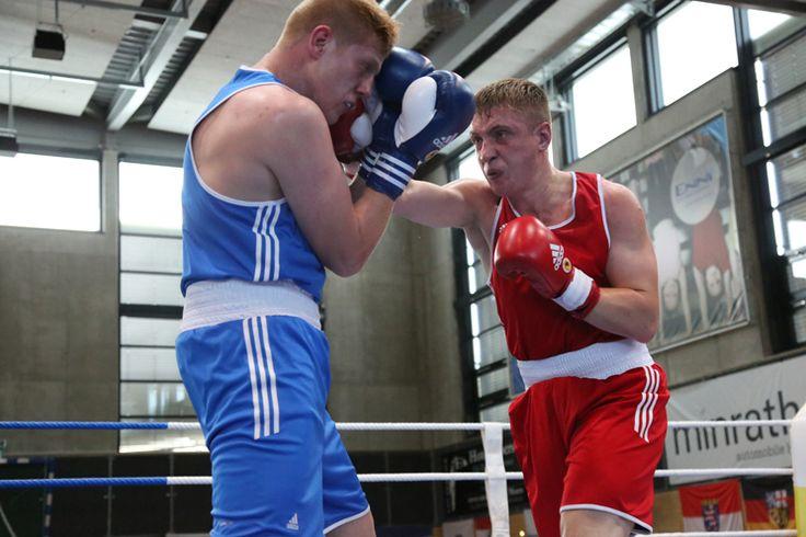 Hauptfeldwebel Marcus Abramowski will ambitionierte Boxer in der Truppe finden, die an Militär-Box-Wettkämpfen teilnehmen sollen