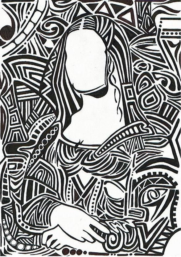 Famous Expressive Line Art : Best mona lisa★ images on pinterest funny pics