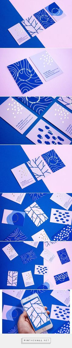 Manon Louart Business Card Design by Manon Louart | Fivestar Branding Agency – Design and Branding Agency & Curated Inspiration Gallery #branding #businessCard #businesscardsdesign #design #designinspiration