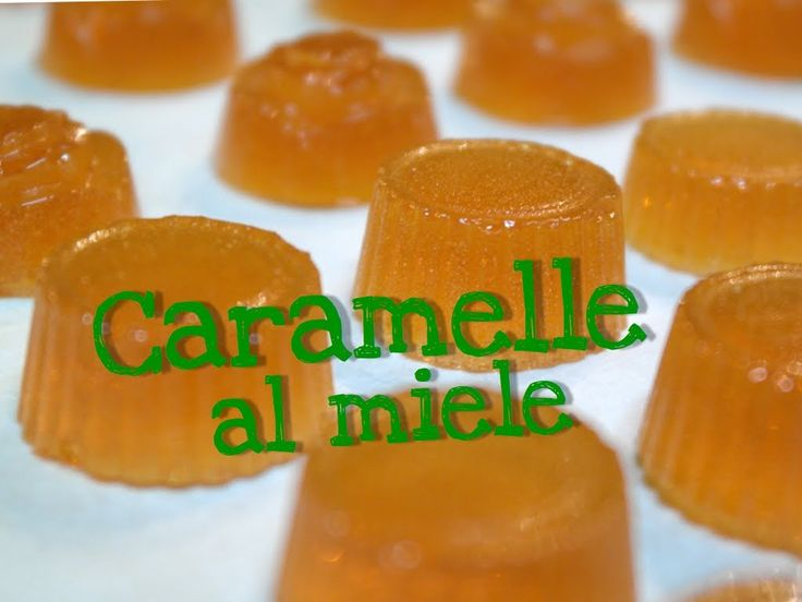 CARAMELLE AL MIELE FATTE IN CASA DA BENEDETTA –  Homemade Honey Candy